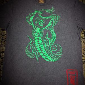T-Shirt Logo – Green/Graphite