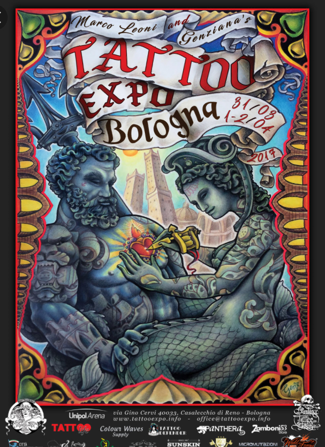 Tattoo Expo - Bologna - 31-2.04.2017
