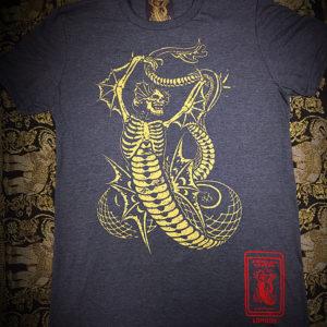 T-Shirt Logo – Yellow/Grey