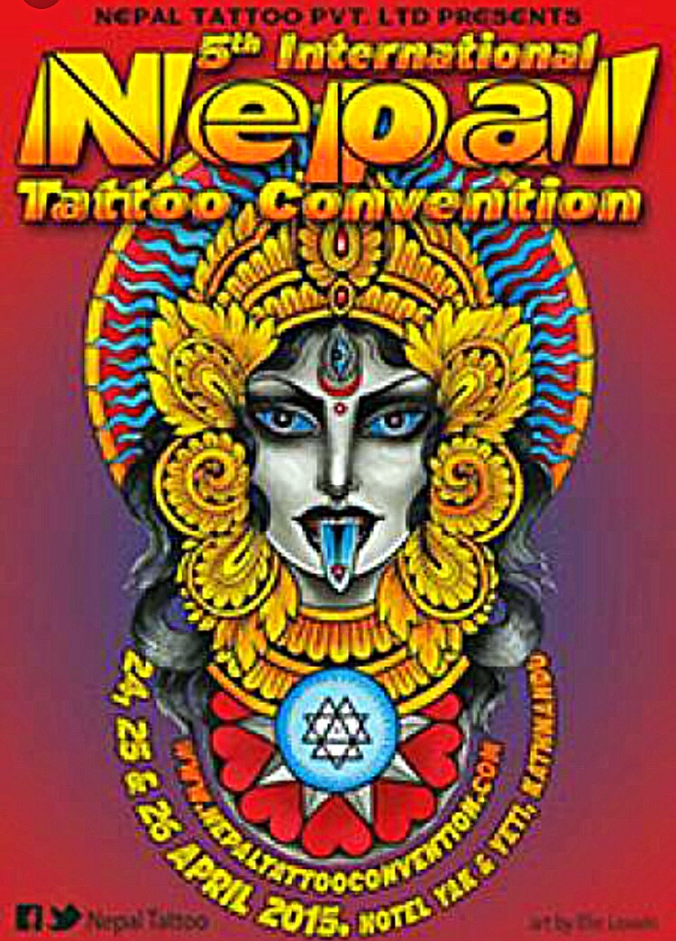 5th International Nepal Tattoo Convention 24-26.04.2015