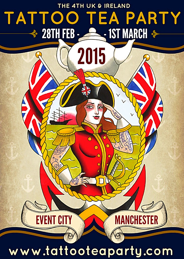 Fourth Tattoo Tea Party in Manchester 28.02-01.03.2015